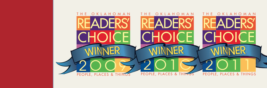 The Oklahoman - Readers' Choice Winner 2009, 2010, 2011